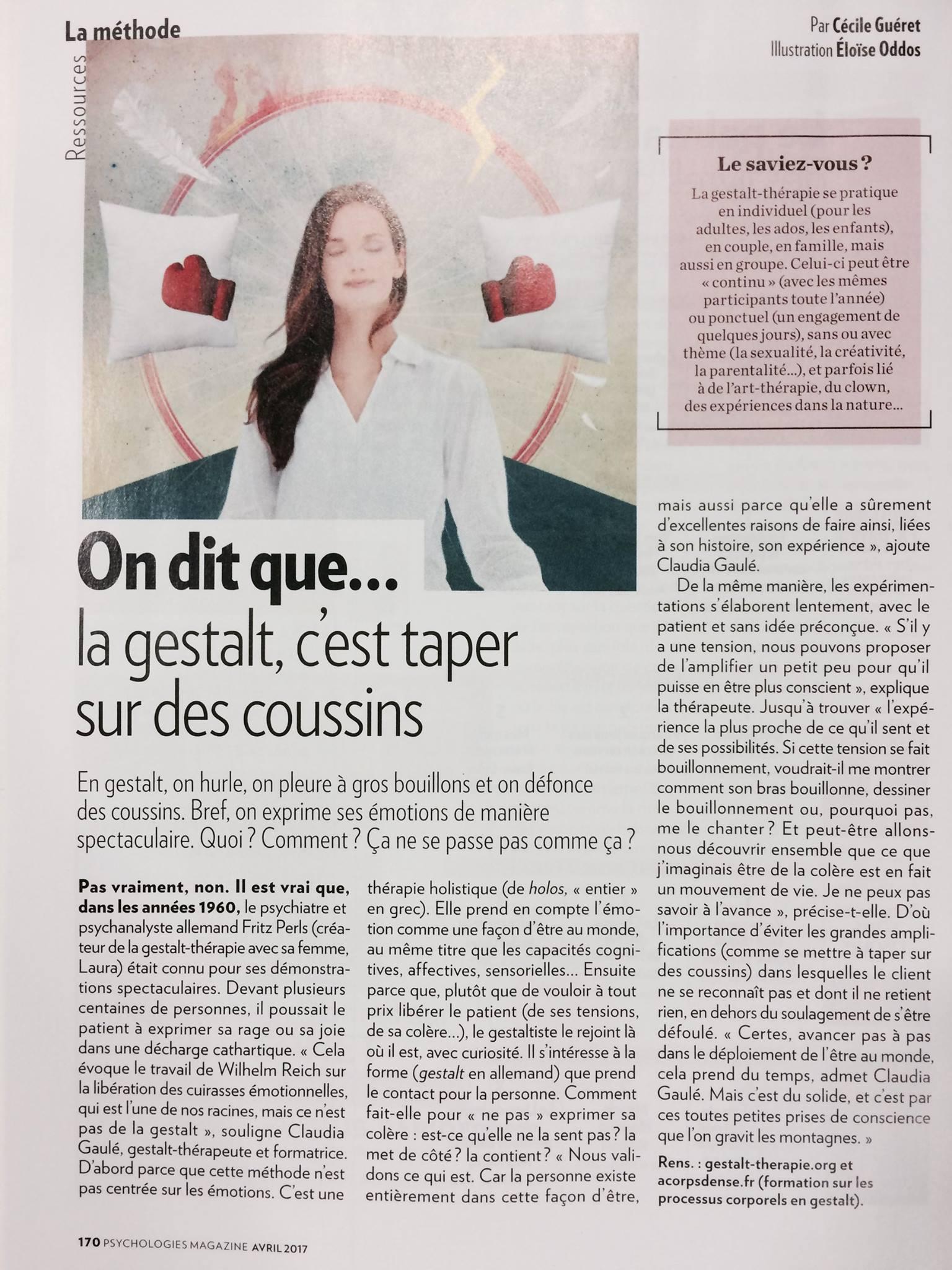 Article GT - Céccile Guéret